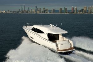 Maritimo S48 Back view