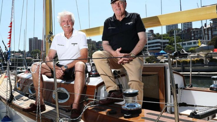 KATWINCHAR WINS GRAND VETERANS IN ROLEX SYDNEY HOBART YACHT RACE