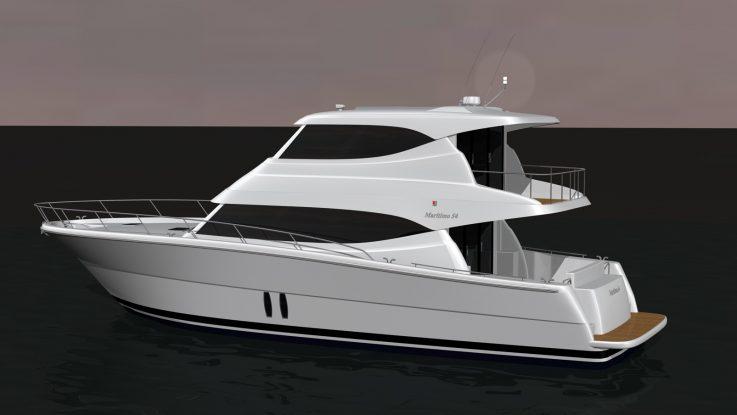 New M54 Cruising Motoryacht