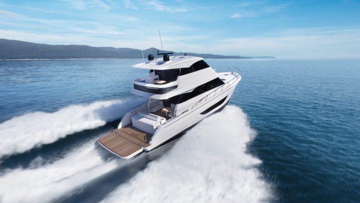 Global Launch | Maritimo M55 Flybridge Motor Yacht