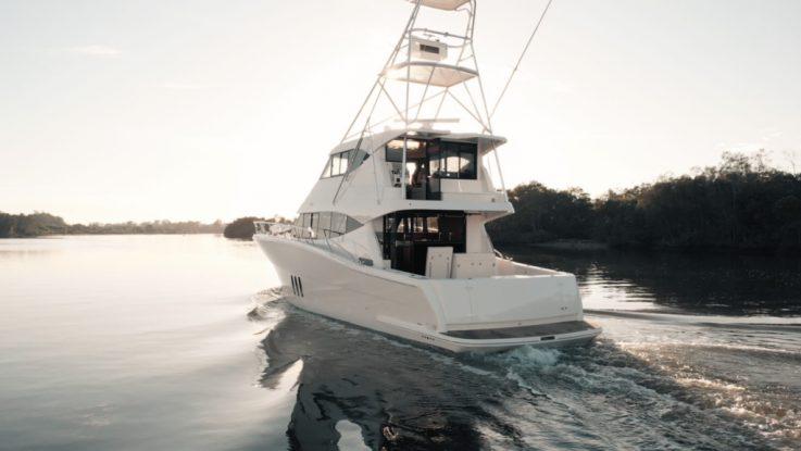 MARITIMO ONE | CUSTOM FISH M59 MOTOR YACHT HEADED FOR THE HIGH SEAS
