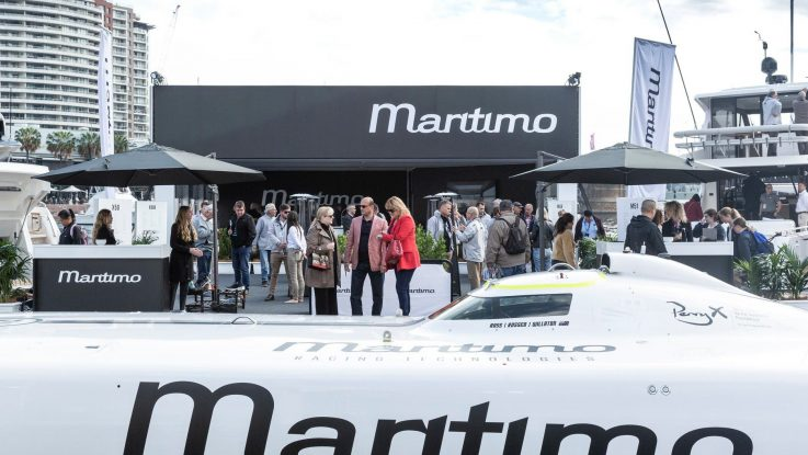 MARITIMO STAND IS NUMBER ONE AT SYDNEY BOAT SHOW