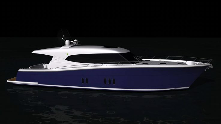 The Maritimo S70 Sedan Cruiser set to be available early 2017