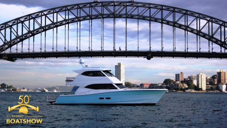 World premiere of the Maritimo S70 at the Sydney International Boat Show this week