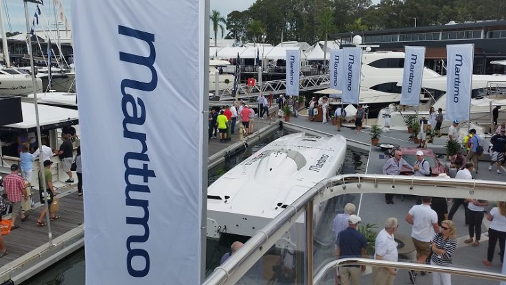Strong interest in Maritimo at Sanctuary Cove Boat Show