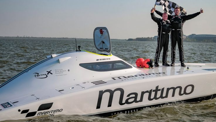 MARITIMO TAKES TWO OUT OF THREE IN ROUND 2 OF UIM XCAT WORLD CHAMPIONSHIP IN SHANGHAI