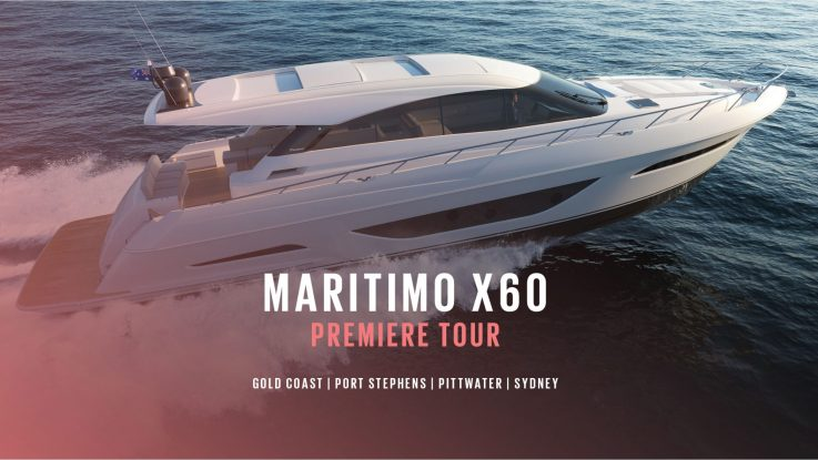 Maritimo X60 East Coast Premiere Tour
