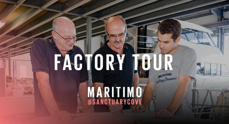 Ever wanted to go behind the scenes of the Maritimo Factory?
